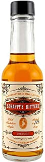Scrappy's Bitters - Orange, 5 ounces - Organic Ingredients, Finest Herbs and Zests, No Extracts, Artificial Flavors, Chemi...