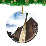 Weekino Louisville Slugger Baseball Kentucky USA Christmas Ornament Travel Souvenir Personalized Christmas Tree Pendant Hanging Decoration
