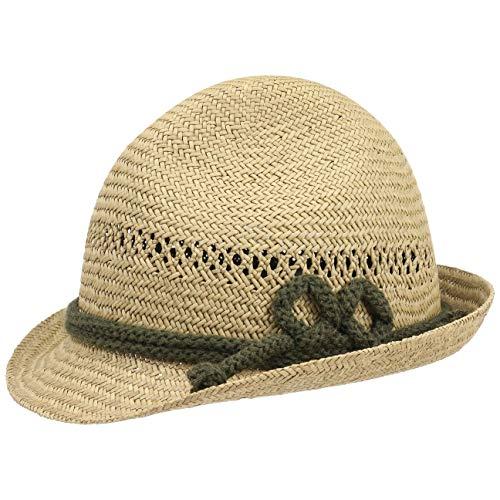 Lipodo Tiroler Dreispitz Strohoed Dames/Heren - Made in Italy drachten hoed zomer voor Lente/Zomer