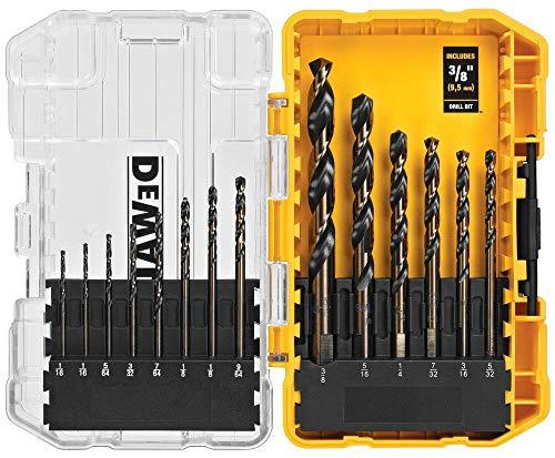 DEWALT DW1162 14-Piece Black Oxide Drill Bit Set | HardwareWorld