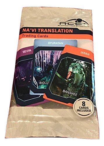 Disney Pandora World of Avatar - Na'vi Translator Trading Cards