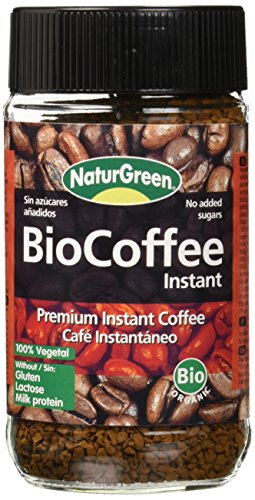 NaturGreen BioCoffee Instant - Café instantáneo, 100 g, 1