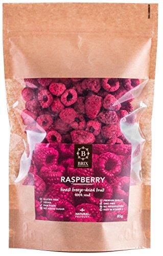 Brix, Grown For Flavour Frutti di lampone liofilizzati (85G)