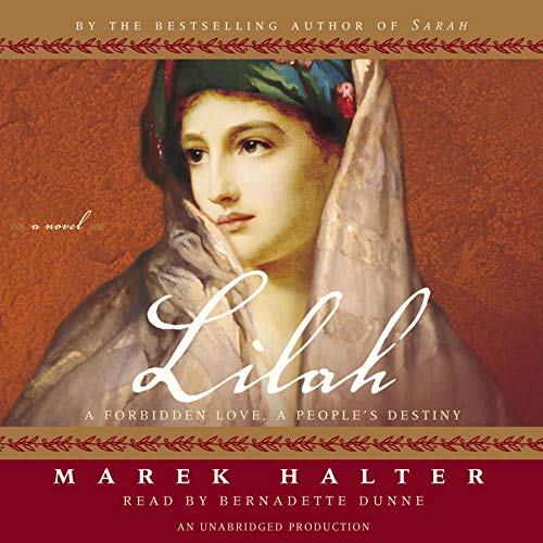 Lilah audiobook cover art