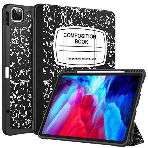 CaseBot SlimShell Case for iPad Pro 12.9' 4th & 3rd Generation...