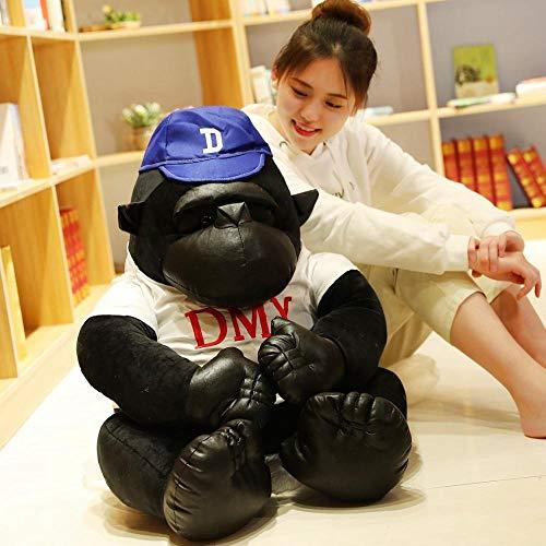 Pluchen Speelgoed Leuke Gorilla Black King Kong Doll Monkey Doll Doll-black_100cm