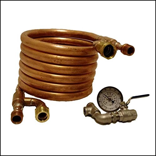 Counterflow Wort Chiller - All copper design for homebrewing