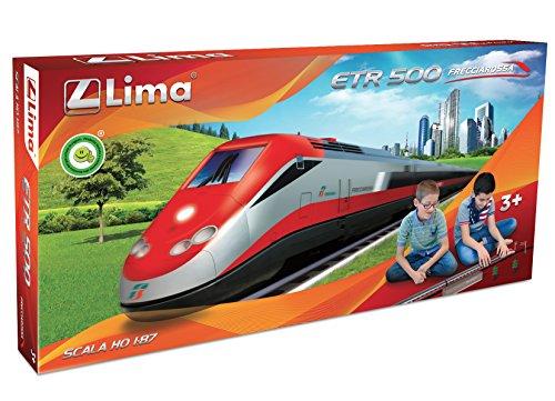 Grandi Giochi Lima HL1401 - Set Treno a Batteria ETR 500 Frecciarossa