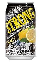 〔缶チューハイ〕 直球勝負 ストロングレモン 350缶 1ケース (1ケース24本入)(350ml)【合同酒精】
