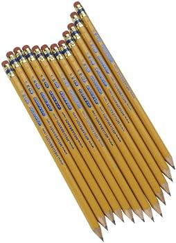 12-Count Write Dudes USA Gold Premium Cedar No. 2 Pre-Sharpened Pencils