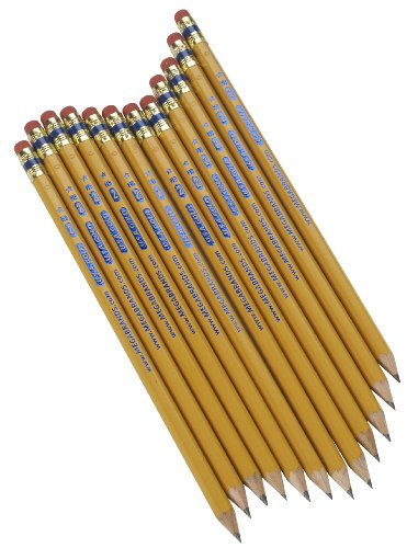 $2.29 USA Gold cedar No. 2 Pre-Sharpened Pencils 12-Count $2.29