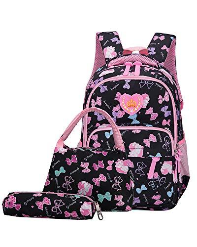 School Laptop Rugzak - Belegao Studenten Tieners Jongens Meisjes School Tas Waterdichte Rugzak Grote Capaciteit Reizen Wandelen College 15.6 inch Laptop Daypack (3 PCS)