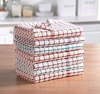 Ces torchons de luxe en tissu éponge sont super doux et très absorbants. Ces torchons en tissu éponge polyvalents sont parfaits pour un usage quotidien (par exemple pour sécher la vaisselle, comme gants pour le four, le nettoyage, etc.). Matériau: 1...