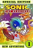 Hedgehog New Adventure: Book 1 2021 Edition Great Adventure Of Sonic Cartoon Comic For Boys, Children