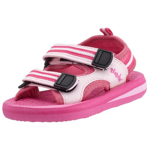 Playshoes Jungen Eva Sandalen, Pink (pink 18), 26/27