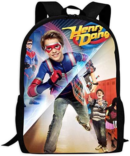 sdfasdfafd H-enry Dan-ger Backpack Daypack Shoulder Bag Unisex Fashion Rucksack Laptop Travel Bag College Bookbag