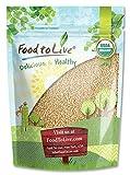 Grano de amaranto orgánico, 3 Libras - Semillas enteras, Sin OGM, Kosher, Vegano, a granel