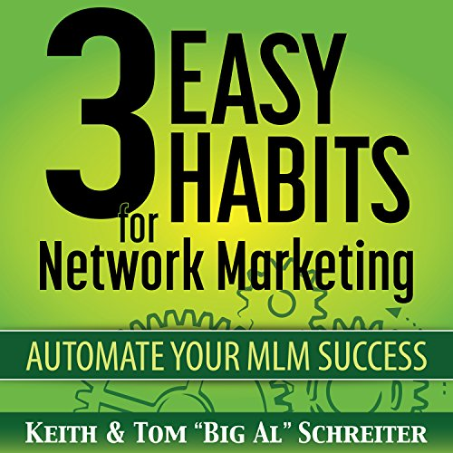 3 Easy Habits for Network Marketing     Automate Your MLM Success              By:                                                                                                                                 Keith Schreiter,                                                                                        Tom