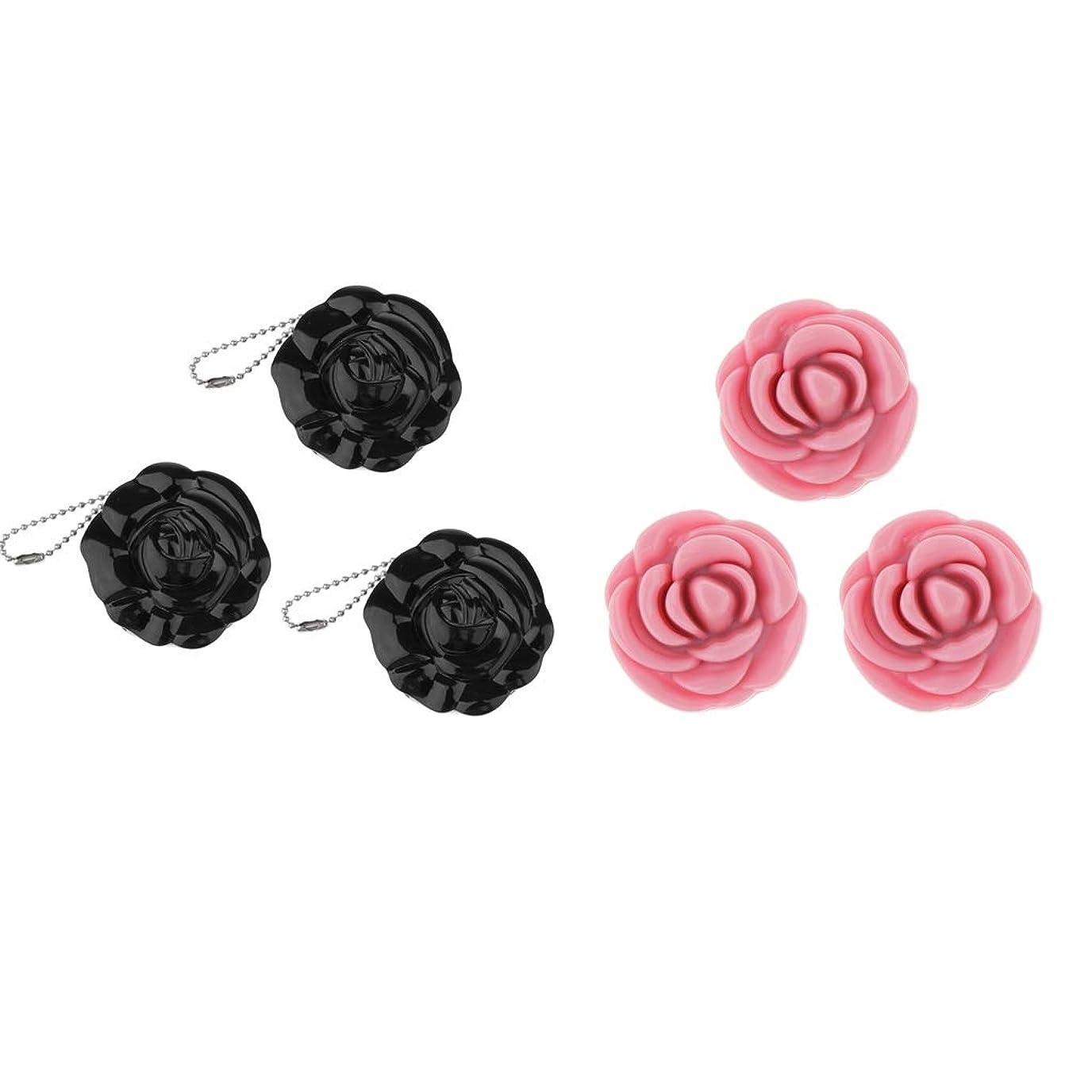 摂動発明するタッチB Baosity コスメ 小分け容器 パウダー 収納ケース 手作り化粧品 薔薇の花 ミラー