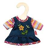 Heless 9510 Peppiges Puppenkleid mit T-Shirt, Größe 20 - 25 cm
