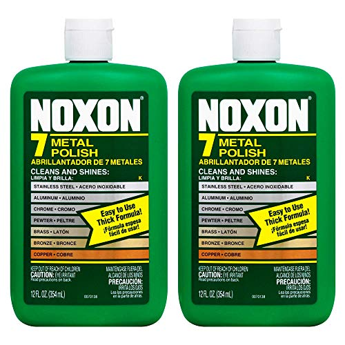 Noxon 7 Metal Polish Cleaner 12 Oz, 2 Pack