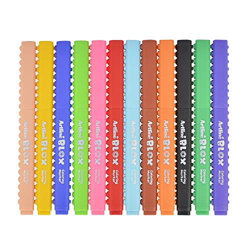 シャチハタ BLOX カラーペン 水性 12色セット KTX-300/12W