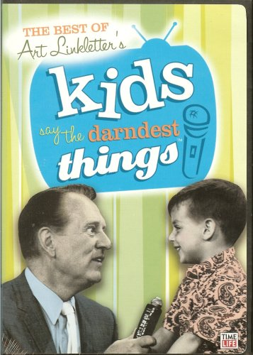 "The Best of Art Linkletter's Kids Say The Darndest Things (3-Disc Set: ""Best of..."" Volumes 1, 2 & 3)"