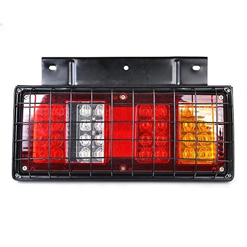ANAN 12 V/24 V achter Stop LED-verlichting achterlicht aanhanger vrachtwagen