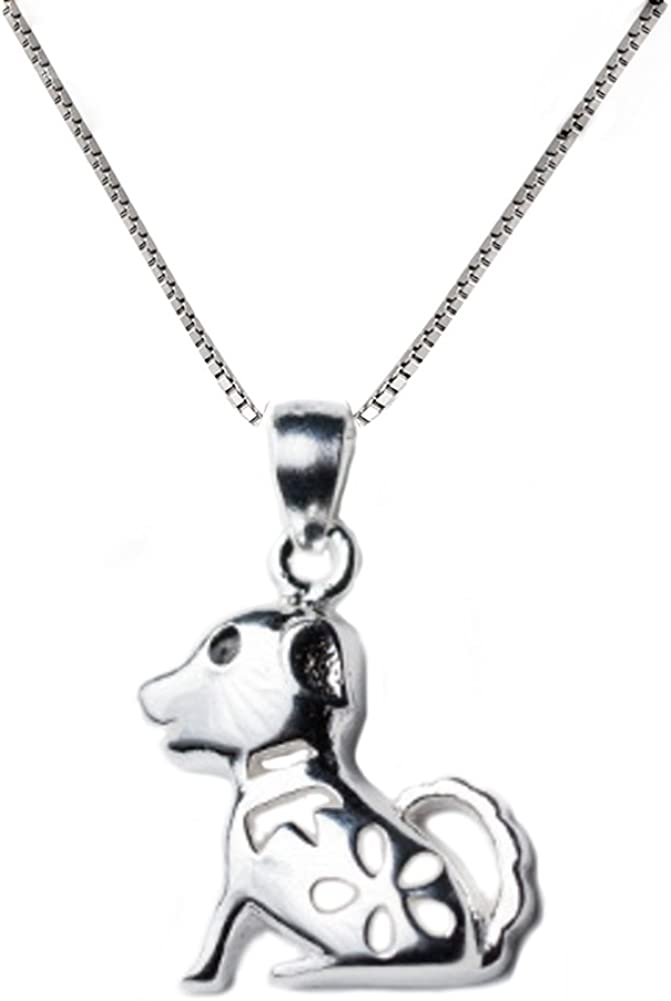 excellence Helen de Lete Little Dog Ranking TOP1 Silver Collar Necklace Sterling