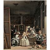 Cartel del Museo del Prado 'Las meninas o La familia de Felipe IV-Velázquez'
