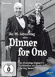 Dinner for One auf DVD