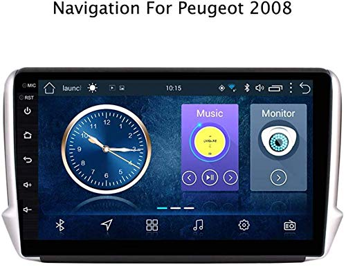WY-CAR Android 8.1 para Peugeot 2008 208 2014-2018 Quad-Core 9