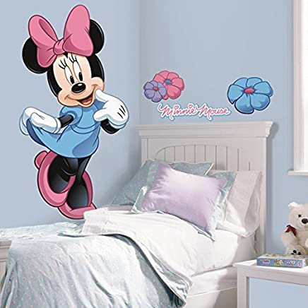 Adesivi Murali Minnie E Topolino.Amazon It Minnie Adesivi E Murali Da Parete Pitture E