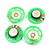 4 PC 16 Ohm 0,25 W 29mm Ronda altavoz externo juguete magnético electrónico