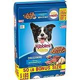 Kibbles 'N Bits Original Dry Dog Food Bonus Bag, 50 Lb