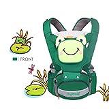 SONARIN 4 en 1 de dibujos animados multifunción Hipseat Baby Carrier, Portador...