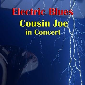 Electric Blues - Cousin Joe In Concert