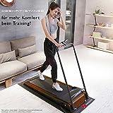 DESKFIT DFT200 Laufband für/unter Schreibtisch – fit und gesund im Büro & zu Hause. Bewegen und ergonomisches Arbeiten, Keine Rückenschmerzen – mit praktischer Tablet-Halterung, Fernbedienung und App - 7