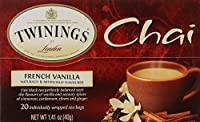 Twinings French Vanilla Chai 20 Count [並行輸入品]