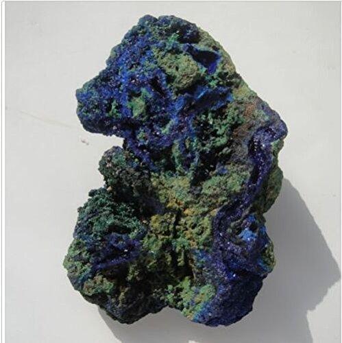 Crystal Agate ®1/4lb Natural Azurite/malachite Crystal Specimen (Reiki,chakra)- Morocco