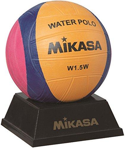 Mikasa W1.5W - Mini pallone Waterpolo, colore: giallo/viola/magenta