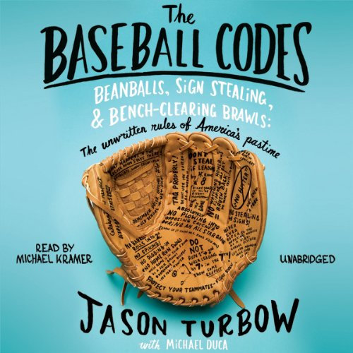 The Baseball Codes audiobook cover art