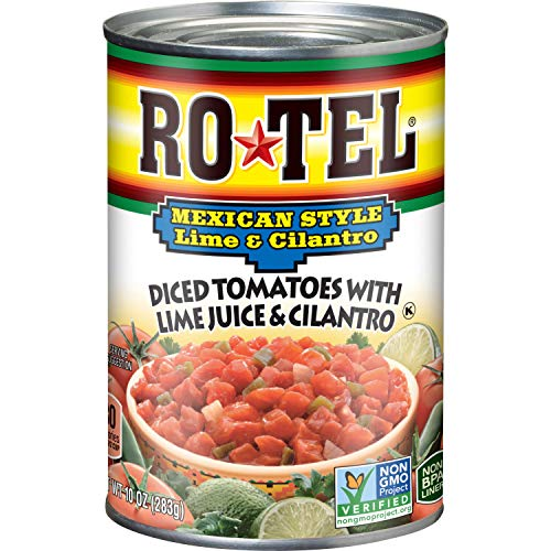 Rotel, Diced Tomatoes with Lime and Cilantro 10 Oz