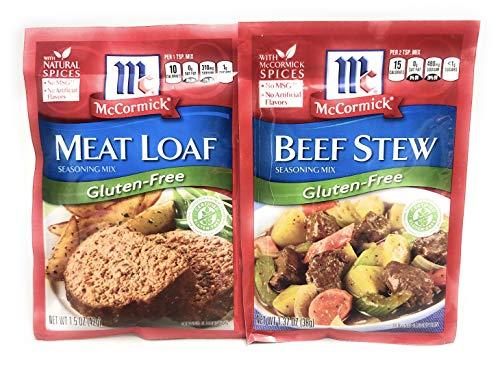 McCormick Gluten-Free Beef Stew and Meatloaf Bundle