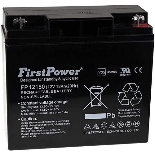 FirstPower Batería de Gel FP12180 12V 18Ah VDS