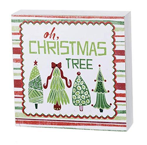 Nikki's Knick Knacks Oh Christmas Tree Wood Holiday Christmas Sign