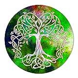 Sonnenfänger' Baum des Lebens' Nr. 20.1 Ø 20cm Geschenk Geburtstag Dankeschön | Symbol der Liebe | Glücksbringer Lebensbaum | Aufhänger Fensterbild | keltischer Weltenbaum Deko Acrylglas