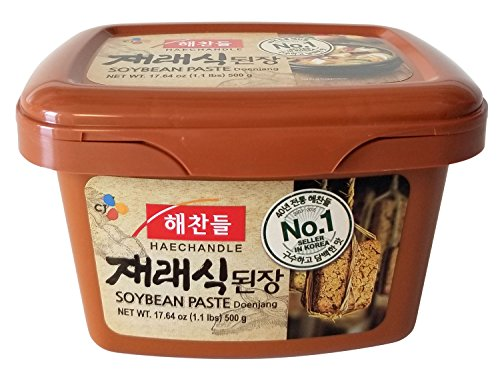Jaeraesik Soybean Paste (1.1 lb) By CJ Haechandle