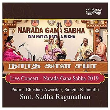Live Concert - Narada Gana Sabha 2019
