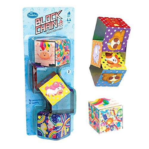 Block Chain (Unicorns) STEM Toy and Logic Game for Boys and Girls Age 8 and Up – The Addictive Brainteaser Puzzle